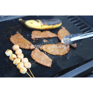 Tapis de barbecue antiadhésif réutilisable
